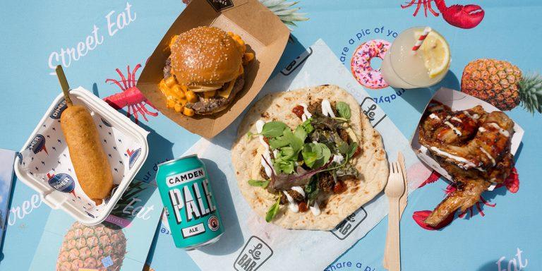 Street Eat Carnaby Street London 2018